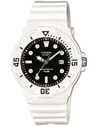 Casio LRW-200H-1EVEF - Reloj analógico de cuarzo para mujer con correa de resina, color blanco