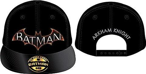 Batman Cap Arkham Knight Snap Back Cap Original Logo Mütze Schirmmütze The Dark Side