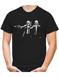 Pulp Fiction Star Wars T-Shirt | Yoda | Skywalker | Science Fiction | Vader | Darth | Imperium | Crossing | Kult