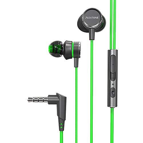 hahashop2 Active Noise Cancelling Kopfhörer, Tiefer Bass mit CVC Geräuschunterdrückendes Mikrofon, 24 Std. Wiedergabedauer Kopfhörer mit Bass-Rauschunterdrückung für PC-Gaming-Headsets