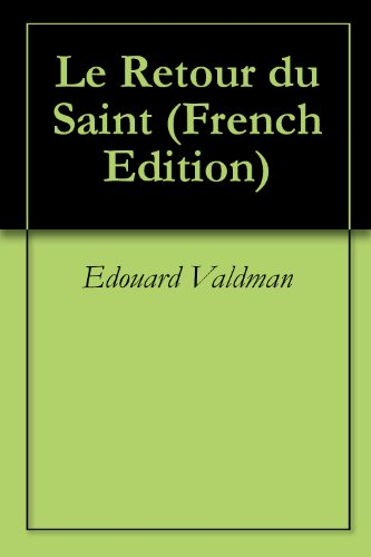 Livres gratuits Le Retour du Saint pdf, epub