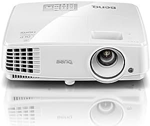 BenQ TH530 Full HD 3D DLP-Projektor (1920×1080 Pixel, Kontrast 10.000:1, 3200 ANSI Lumen, HDMI, 1,1x Zoom) weiß