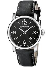 WENGER Herren-Armbanduhr WENGER URBAN METROPOLITAN 01.1041.127 Analog Quarz Leder WENGER URBAN METROPOLITAN 01.1041.127