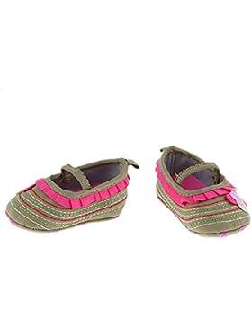 Sharplace Neugeborene Mädchen Baby Weiche Sohle Krippe Schuhe Kleinkind Schuhe aus Baumwolle (0-18 Monate)