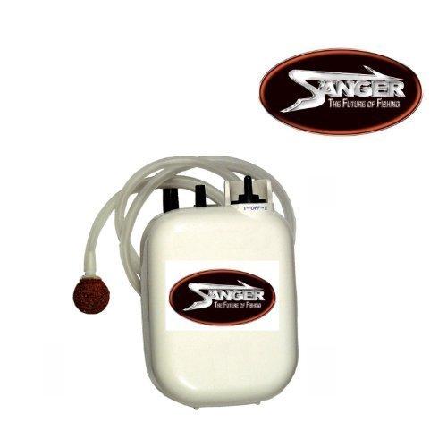 Sauerstoffpumpe 2-Gang - Batteriebetrieb