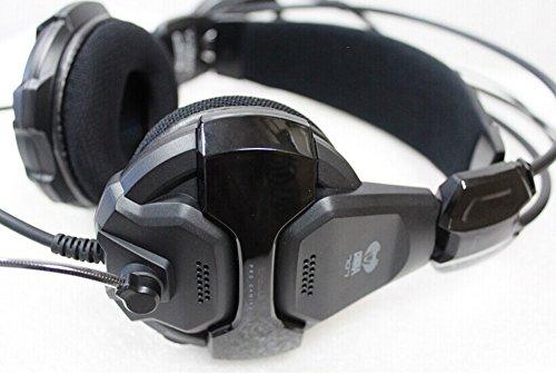 E-3LUE E-Blue Cobra HS707Gaming Headset Kopfhörer mit Mikrofon LED-Licht für PC Notebook LOL WOW CS