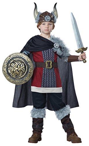 California Costumes Viking Warrior Boys Halloween Costume (Halloween Viking)