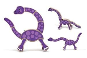 Melissa & Doug Jouet pour favoriser le réflexe de préhension - Dinosaure