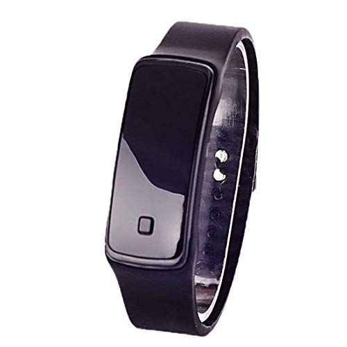 Elektrische Kinder einfache Sportuhr LED Touch Smart Digital Screen Quarz Uhr Kinder Armbanduhr (Digitale Kind Uhr)