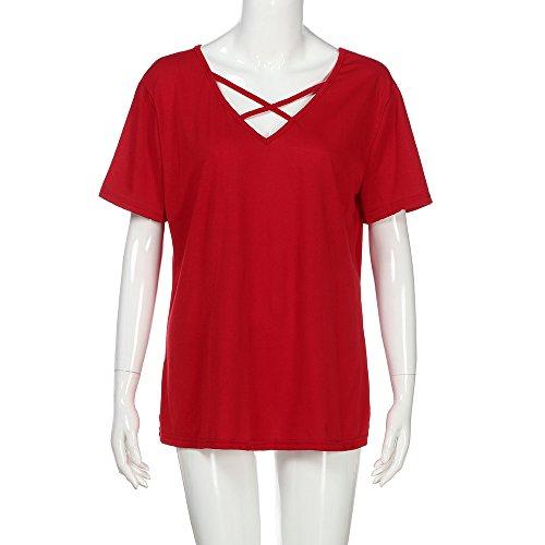 Buimin - Sweat à capuche - Femme WE Red