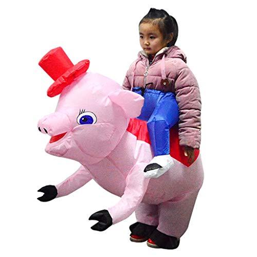 Schwein Kostüm Fattsuit Luft Anzug Inflatable Suit Cospalyparty Zubehör, Geschenk für Kinder ()