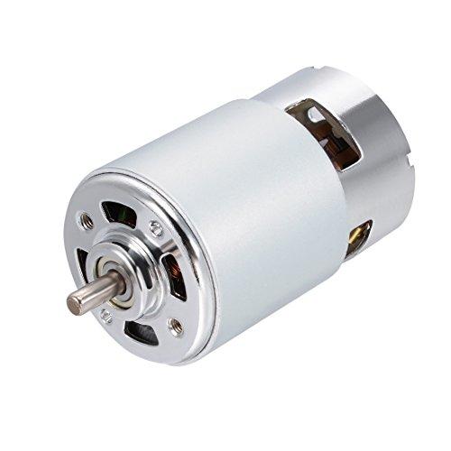 sourcing map Klein DC Motor 24 V High Speed 6400 RPM Hoch Torque Motor für DIY Spielzeugauto Amp-1-geschwindigkeiten-motor