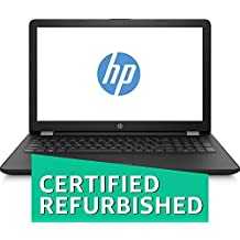 (CERTIFIED REFURBISHED) HP Notebook 15- Bs146tu Intel (CoreTM I5-8250U 8th Gen, 1.6GHz /4GB DDR4 /1TB HDD / 39.62 Cm(15.6) Diagonal FHD SVA/ Windows 10 Home ) Black