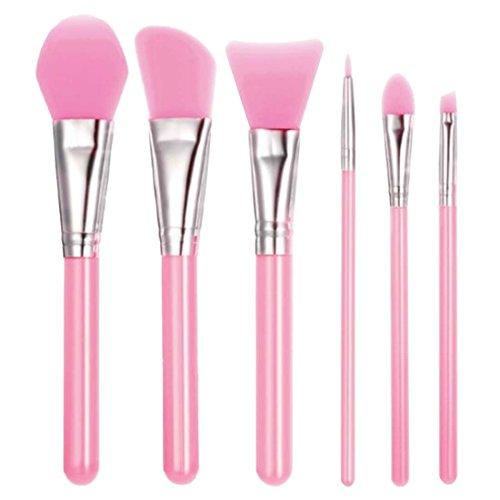 Make-up-Pinsel, Silikon Gel weich Elastic Gesichtsmaske Foundation Lidschatten Eyeliner Lippenstift Pinsel Kosmetik Make up Werkzeug