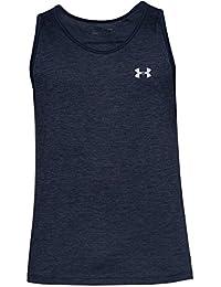 Under Armour UA Tech Tank Camiseta sin Mangas, Hombre, Academy (413), L