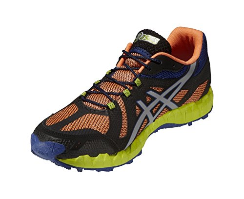 Asics, T416N 0913, Scarpe sportive, Uomo ORANG/L.GREY/BL