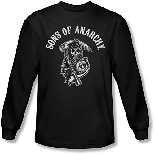Sons of Anarchy - Sons Of Anarchy - Herren Soa Reaper Longsleeve T-Shirt Black