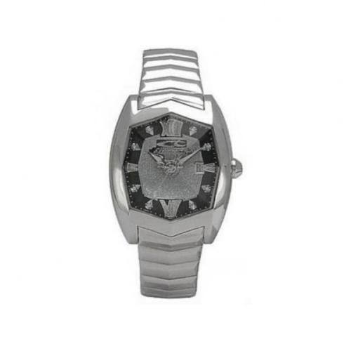 Women's Chronotech Watch Presidential CT.7964L/02 M Black Steel Swarovski