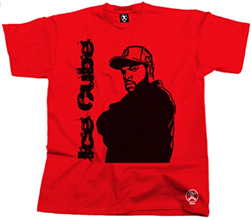 Ice Cube Tshirt NWA Compton Top More Colours HHT-CUB01 Red