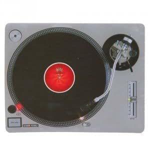 Cadeau Tapis de souris Platine Vinyle