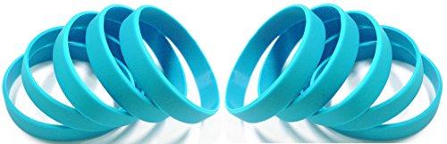 Cosmic Plain Wristband Light Blue color (10 Pieces)
