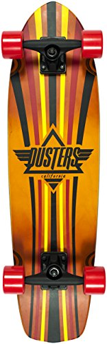 Preisvergleich Produktbild Dusters Skateboard Cruiser,  komplett Keen 31 Kryptonics Red