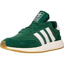verde fluo scarpe adidas in pelle
