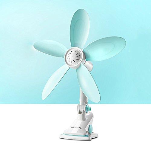 Escritorio de oficina de ventilador eléctrico con una base de la carpeta de ventilador de pared colgando...