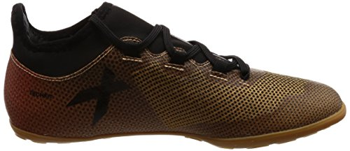 adidas X Tango 17.3 In, Chaussures de Football Homme Or (Tactile Gold Met. F17/core Black/solar Red)