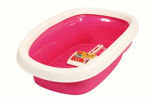 sprint-20-zolux-cat-litter-tray-with-scoop-pink