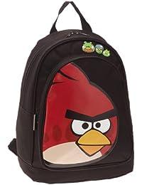 Angry Birds Sac À Dos Borne - Bolso, color Negro