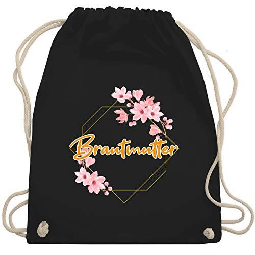 Hochzeit - Brautmutter - Unisize - Schwarz - WM110 - Turnbeutel & Gym Bag