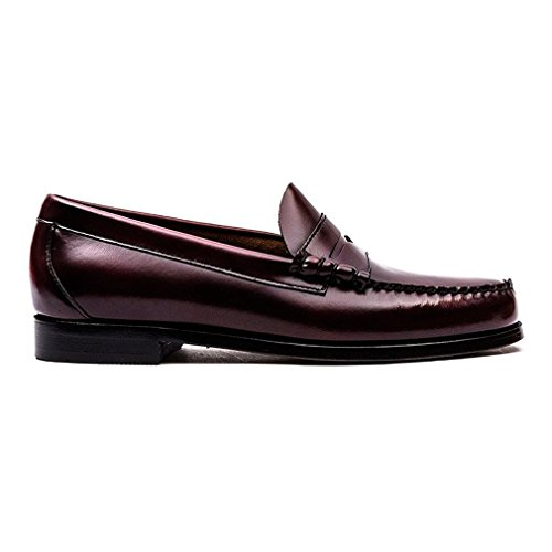 G. H. Bass Mens Weejuns Larson Moc Penny Leather Shoes Vino