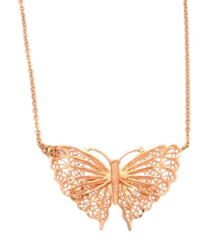 Carissima Gold - Collier - Femme - (9 cts) Or Rose
