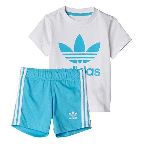 adidas Kinder I Set Trainingsanzug, Weiss (Blanco/Ciabri), 116