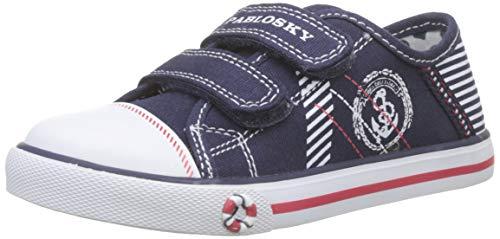 Pablosky, Zapatillas sin Cordones para Niños, Azul Azul 953220, 21 EU