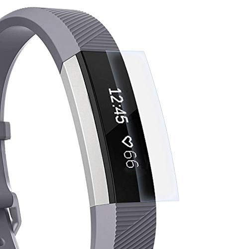 zanasta Schutzfolie kompatibel mit Fitbit Alta HR Bildschirmschutzfolie Nano Schutz Folie   Volle Abdeckung, Klar Transparent