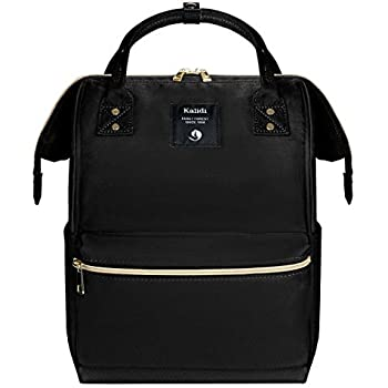 7b0c29f8d61 Kah&Kee Leather Backpack Diaper Bag Laptop Travel School for Women ...