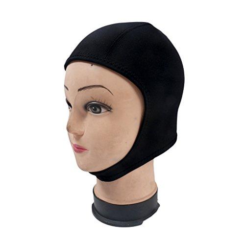 Preisvergleich Produktbild Gazechimp Neopren Kopfhaube 2mm, Wassersport Haube