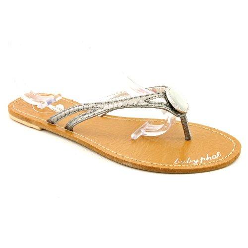 phat-farm-damen-sandalen-gold-metallisch-grosse-42