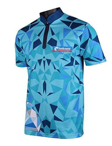Unicorn Dart-Shirt 2019 Ian White XXXX-Large hellblau