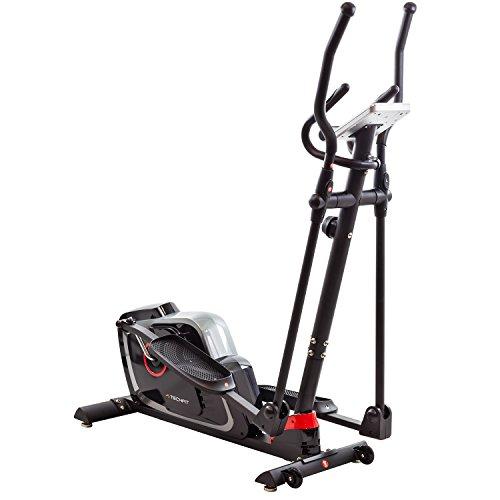 TechFit E470 Cross Trainer, Cyclette Ellittica per la casa, la perdita di peso Macchina per Cardio ed Esercizi di Fitness, Dispositivo di Resistenza Magnetica adatta per spazi interni