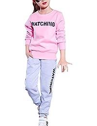Free Fisher Jungen/Mädchen 2tlg Bekleidungsset Sweatshirt + Hose
