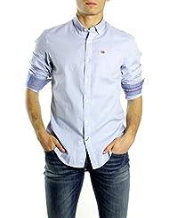 NAPAPIJRI El hombre camisa de manga larga N0YG6WI27 GUERRERO