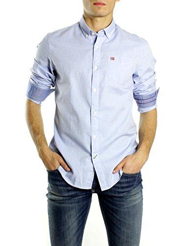 NAPAPIJRI chemise à manches longues Homme N0YG6WI27 GUERRERO Celeste