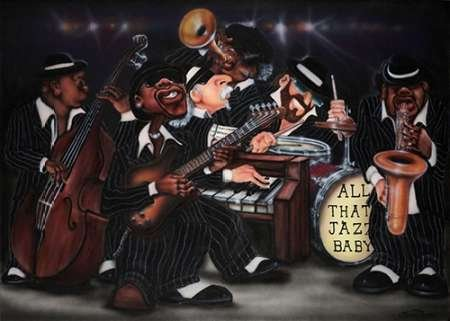 Feeling at Home Feelingathome.it-LEINWANDDRUCK-All-That-Jazz-Baby-cm64x91-poster-bild-auf-leinwand (Poster All That Jazz)