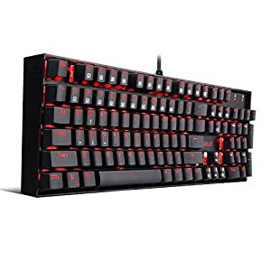 Redragon Vara K551 LED Backlit Mechanical Gaming Keyboard (Black)