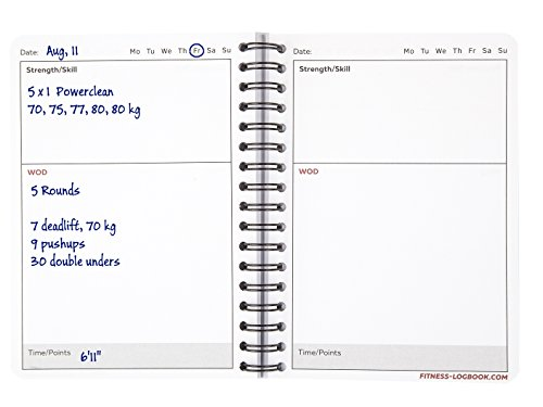 Wod Logbook: Undated – Fitness Planners