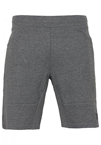 Jack & Jones Jjtaterry Sweat Shorts mit 2 Seitentaschen | sport Freizeit Urlaub, Farbe:Grey Melange;Hosengröße:M (Shorts Zwei Sweat)