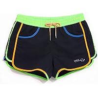 Color : Rosado, tamaño : S FeliciaWen Ropa Deportiva Pantalones Cortos de Secado rápido de Yoga elástico de Wicking Bikini Entrenamiento Ropa de Entrenamiento Chaquetas deportivas
